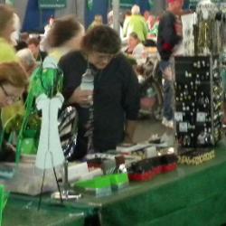 jewelry booth irish festival