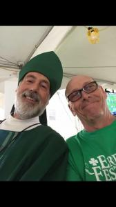 #irishinerie #SelfieWithStPatrick #ErieIrishFestival2017IN LOVING MEMORY OF OUR DEAR FRIEND, St. Patrick