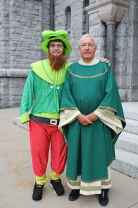 going Green at St. Patrick's Church