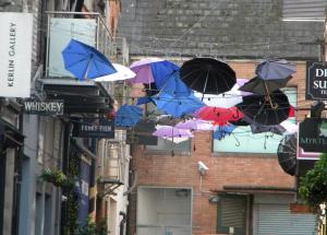 Umbrellas in Ireland
