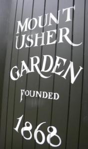 Mount Usher Garden in Wicklow, Ireland